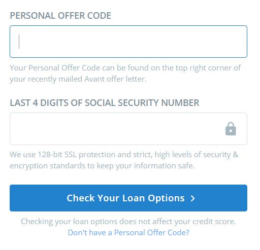 www.MyAvantOffer.com – Avant Personal Loan Pre-Approved Offer